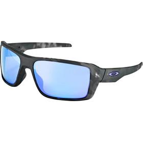 Oakley Double Edge - Lunettes cyclisme - gris/noir